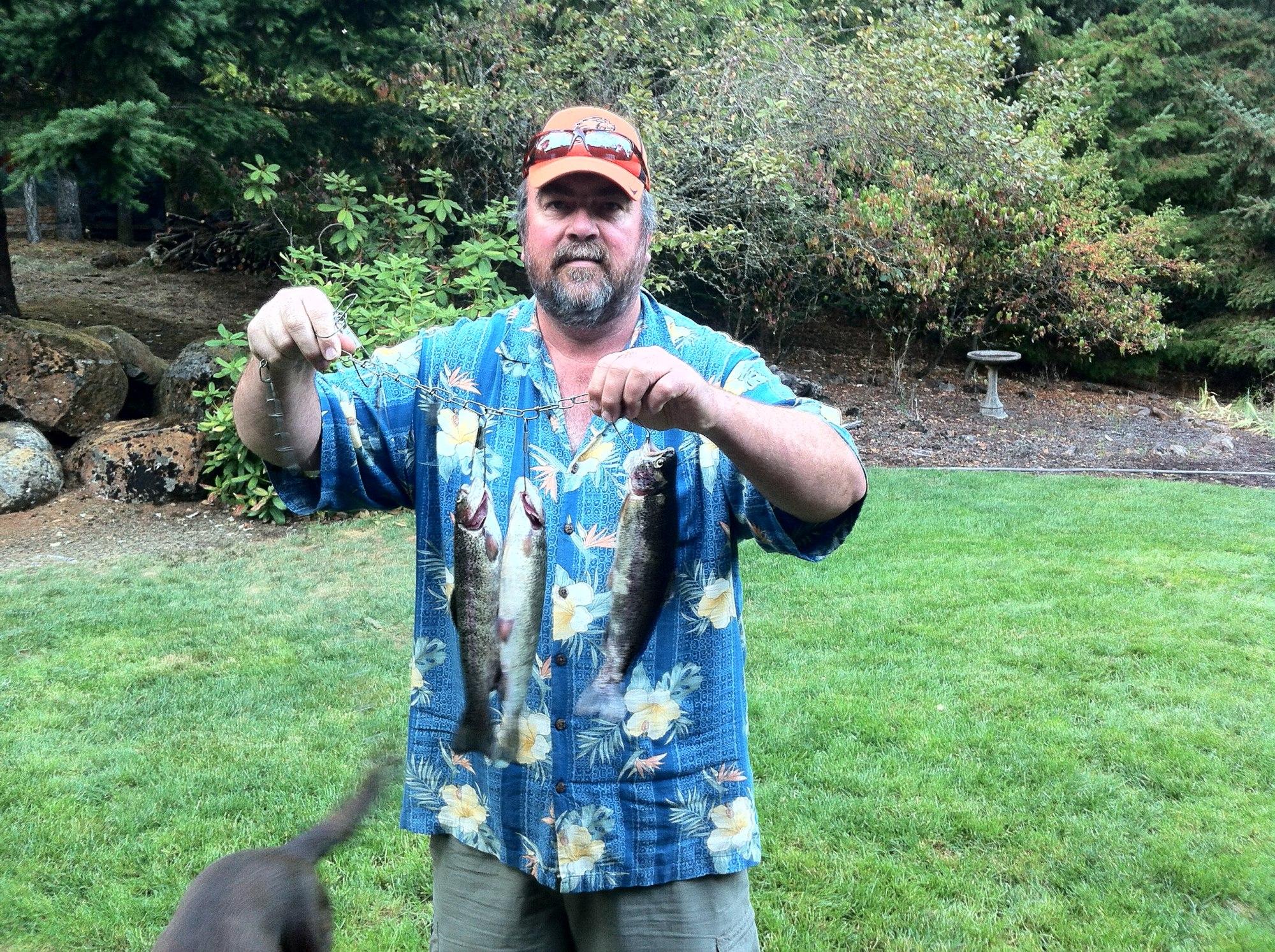 Angler Brad Halleck & Maurice Halleck: Fish of the Week October 10, 2012