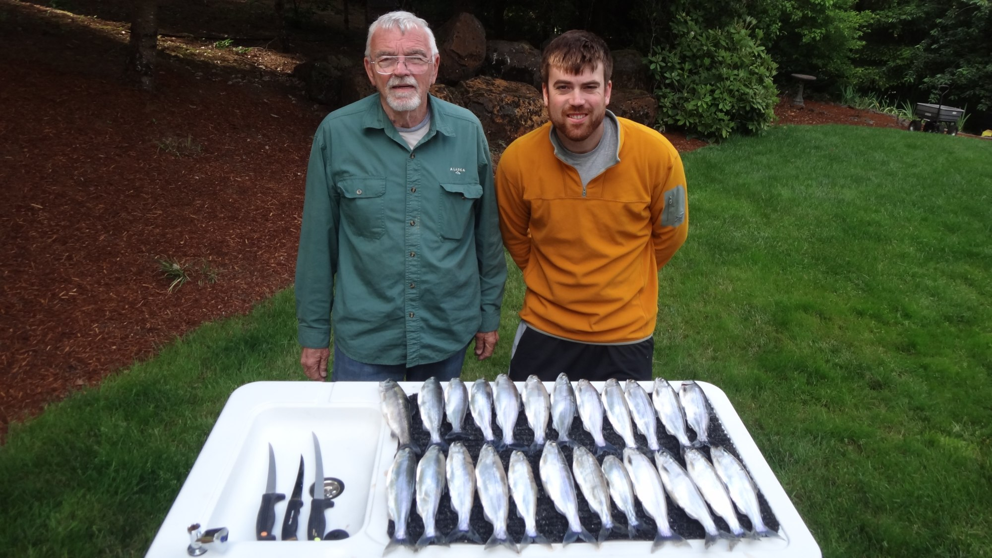 Angler Jeff Halleck and Al Gour Fish of the Week June 6,2013