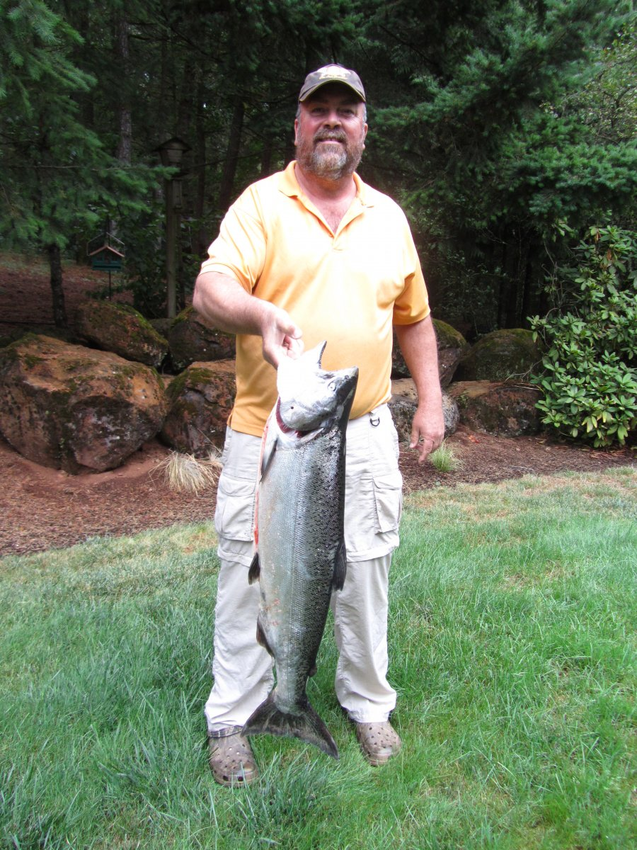 Angler Brad Halleck Fish of the Week August 30, 2014